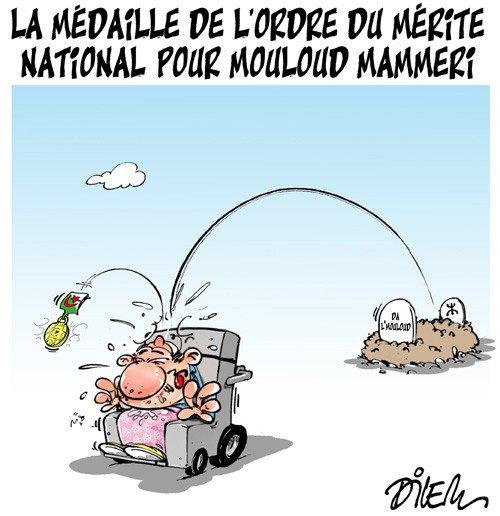 """Spécial """"Médaille de l'ordre du mérite national, Mouloud Mammeri honoré..."""" - Image n° 2/2 !..."""