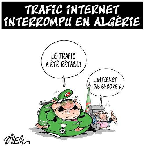"""Spécial """"Panne d'Internet géante en Algérie..."""" - Image n° 2/2 !..."""