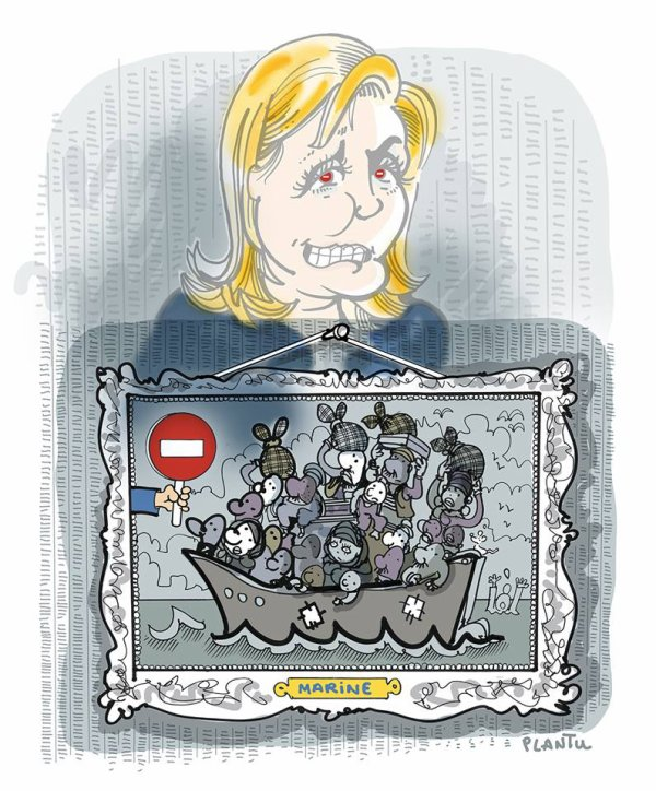 "Spécial ""MARINE LE PEN VS AMNESTY INTERNATIONAL..."" - Image n° 3/3 !..."