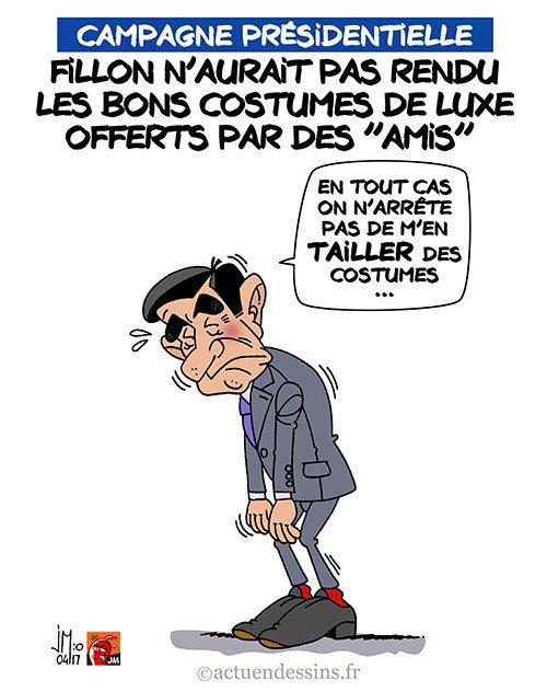 """Spécial """"Affaire """"Les costumes de François FILLON, suite mais peut-être pas fin ?..."""" - Image n° 2/2 !..."""