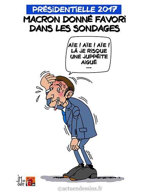 """Spécial """"Macron devient le favori de la présidentielle..."""" - Image n° 2/2 !..."""