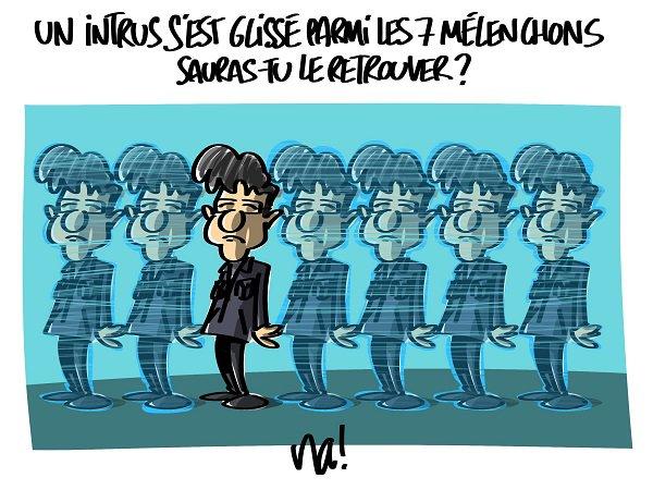 """Spécial """"Présidentielle : Mélenchon veut 6 hologrammes pour le 18 avril..."""" - Image n° 2/2 !..."""