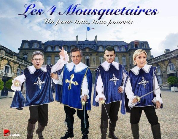 """Spécial """"LES 4 MOUSQUETAIRES..."""" - Image n° 2/2 !..."""