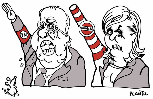 """Spécial """"En quête d'un nouveau souffle, Marine Le Pen durcit le ton sur l'immigration..."""" - Image n° 2/2 !..."""