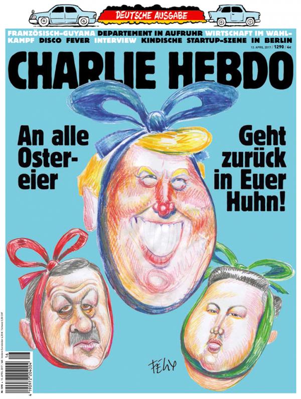 CHARLIE HEBDO ALLEMAND !...