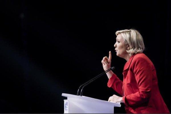 Marine Le Pen, lundi au Zénith de Paris !...