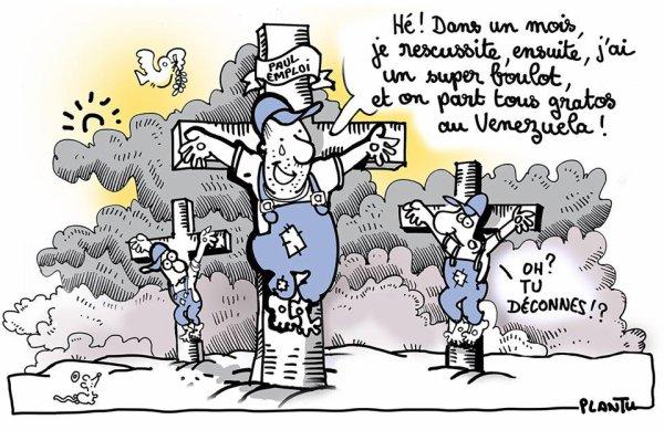 """Spécial """"Un travailleur précaire dénonce les faux espoirs suscités par Pôle emploi..."""" - Image n° 2/2 !..."""