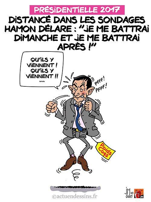 """Spécial """"Malgré les sondages Hamon se battra jusqu'au bout..."""" - Image n° 2/2 !..."""