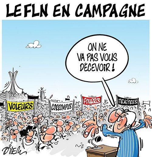 """Spécial """"ALGÉRIE, CAMPAGNE POUR LES LÉGISLATIVES..."""" - Image n° 2/2 !..."""