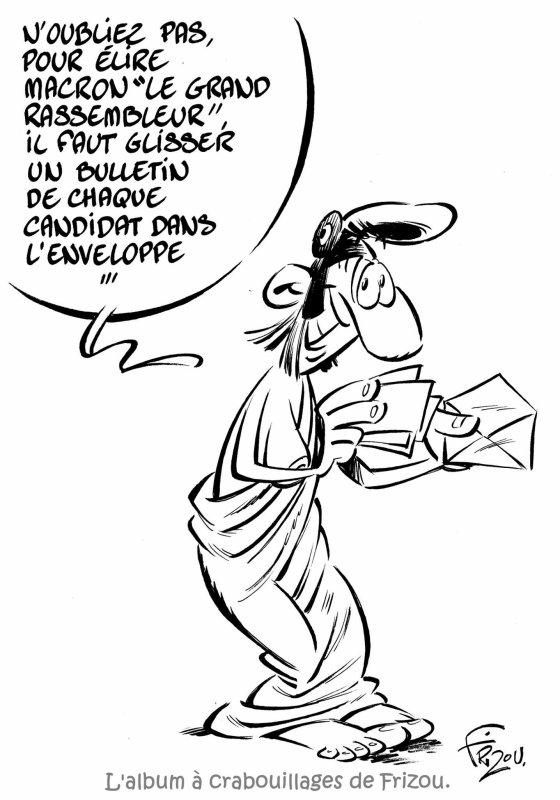 """Spécial """"L'album à crabouillages de Frizou dessinateur..."""" - Dessin n° 3/5 !..."""