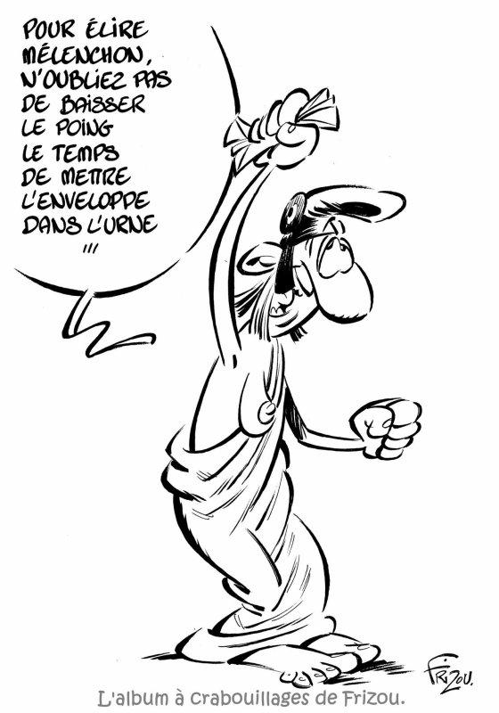 """Spécial """"L'album à crabouillages de Frizou dessinateur..."""" - Dessin n° 1/5 !..."""