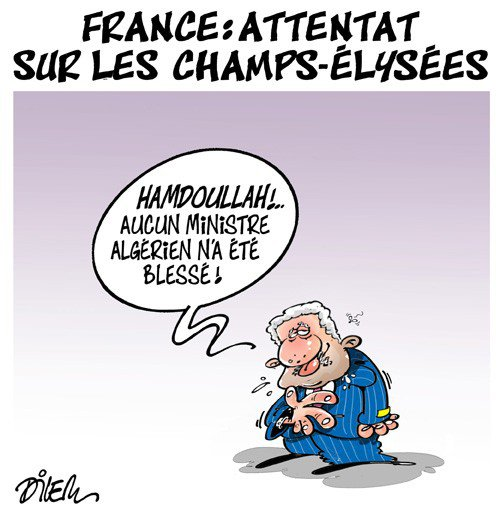 """Spécial """"Attentat des Champs-Elysées, Paris..."""" - Image n° 2/2 !..."""
