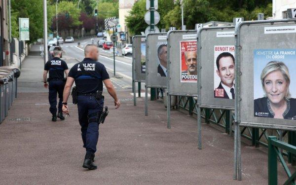 """Spécial """"Présidentielle : en France, des bureaux de vote sous haute surveillance..."""" - Image n° 1/2 !..."""