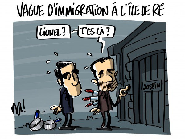 """Spécial """"VAGUE D'IMMIGRATION À L'ÎLE DE RÉ..."""" - Image n° 3/3 !..."""