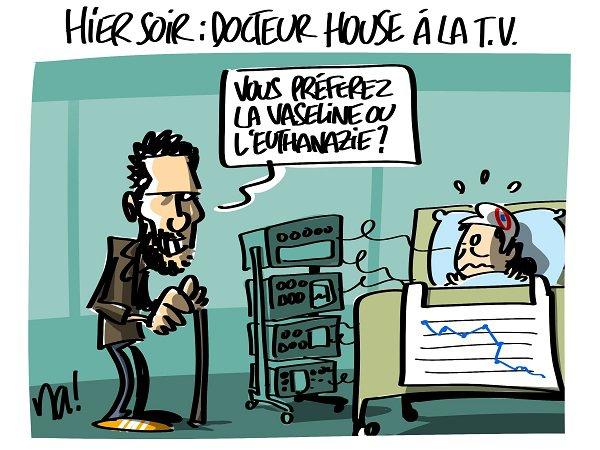 """Spécial """"Docteur HOUSE, hier soir, è la télé..."""" - Image n° 2/2 !..."""