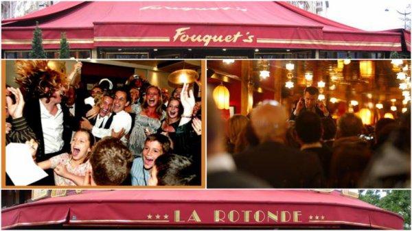 """Spécial """"Présidentielle: Macron fait la fête à la Rotonde, comme Sarkozy au Fouquet's ?..."""" - Image n° 1/3 !..."""