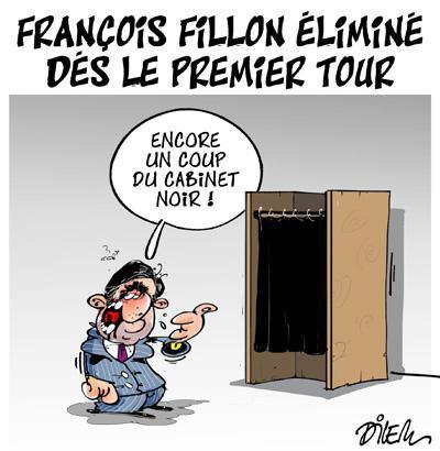 """Spécial """"François FILLON éliminé dès le premier tour..."""" - Image n° 2/2 !..."""