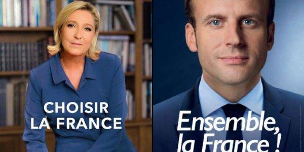 """Spécial """"Emmanuel Macron & Marine Le Pen, nouvelles affiches et nouveaux slogans..."""" - Image n° 1/4 !..."""