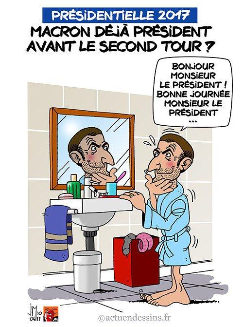 """Spécial """"Macron déjà président ?..."""" - Image n° 2/2 !..."""