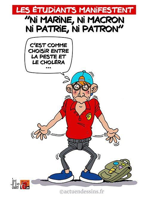 "Spécial ""« Ni Marine, ni Macron, ni patrie ni patron ! »..."" - Image n° 2/2 !..."