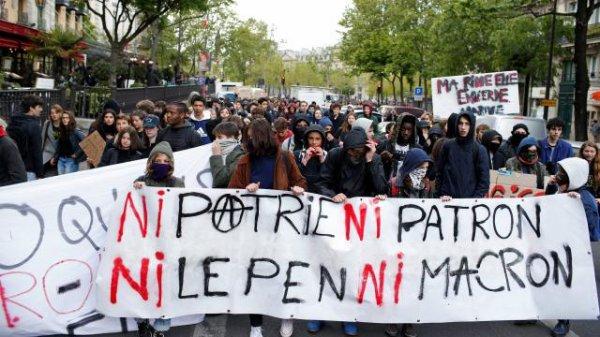 "Spécial ""« Ni Marine, ni Macron, ni patrie ni patron ! »..."" - Image n° 1/2 !..."