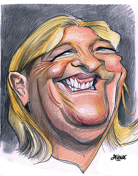 """Spécial """"DELOIRE dessinateur caricaturiste..."""" - Caricature n° 2/3 !..."""