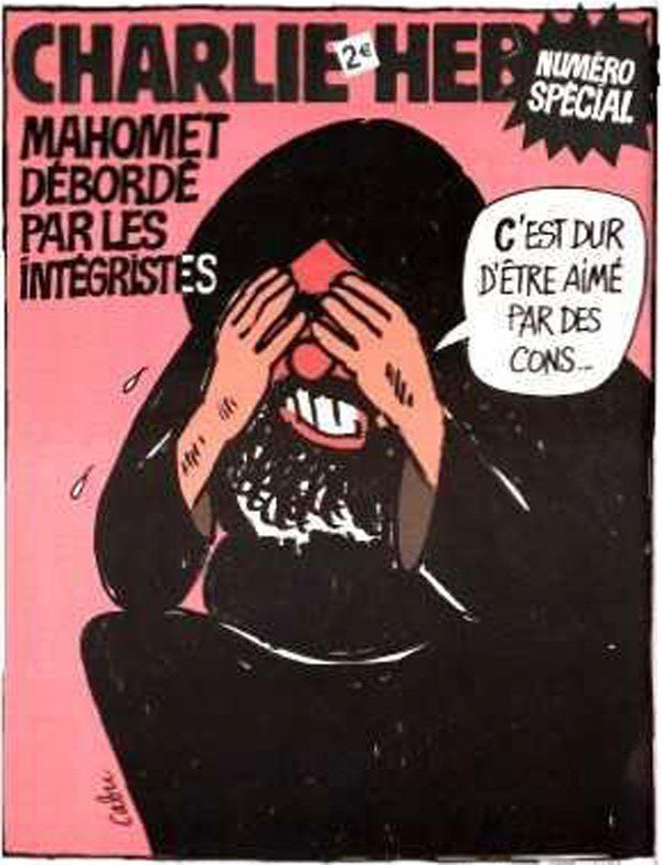 "La ""UNE"" de Charlie Hebdo, 8 février 2006 !..."