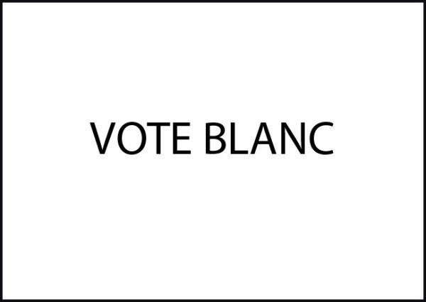 "Spécial ""Vote blanc : ni Marine ni Macron..."" - Image n° 1/2 !..."