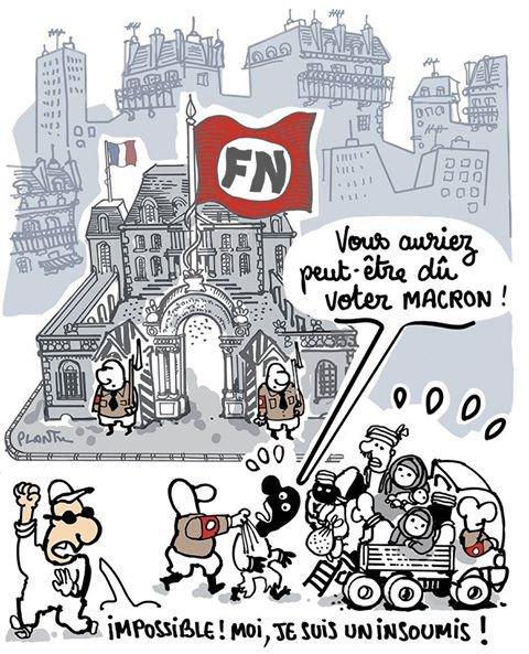 "Spécial ""Vote blanc : ni Marine ni Macron..."" - Image n° 2/2 !..."