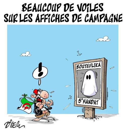 """Spécial """"Législatives en Algérie : polémique autour des """"candidates sans visage"""" sur les affiches..."""" - Image n° 2/2 !..."""