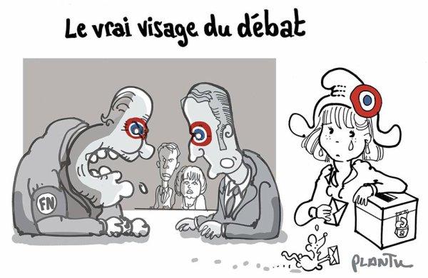 """Spécial """"LE VRAI VISAGE DU DÉBAT..."""" - Image n° 2/2 !..."""