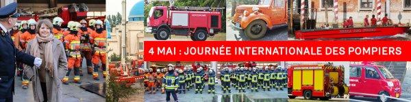 """Spécial """"La journée internationale des pompiers est une journée internationale observée le 4 mai..."""" - Image n° 1/2 !..."""