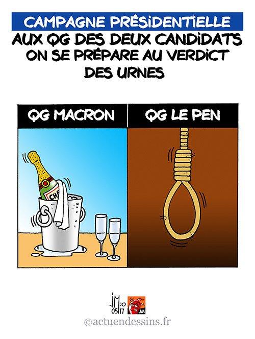 """Spécial """"MACRON OU LE PEN ?..."""" - Image n° 2/2 !..."""