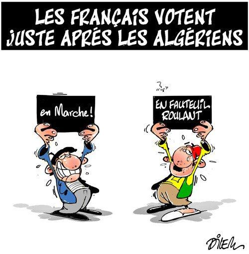 """Spécial """"Les français votent après les Algériens..."""" - Image n° 2/2 !..."""