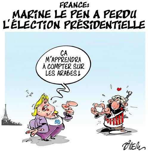 """Spécial """"RÉSULTAT PRÉSIDENTIELLE : MARINE LE PEN A PERDU..."""" - Image n° 2/2 !..."""