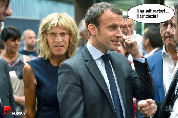 """Spécial """"Emmanuel Macron, avec Brigitte et Manuel Valls"""" - Image n° 2/2 !..."""