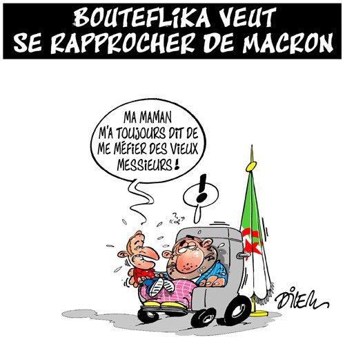 """Spécial """"Abdelaziz Bouteflika fait des """"avances"""" à Emmanuel Macron..."""" - Image n° 2/2 !..."""