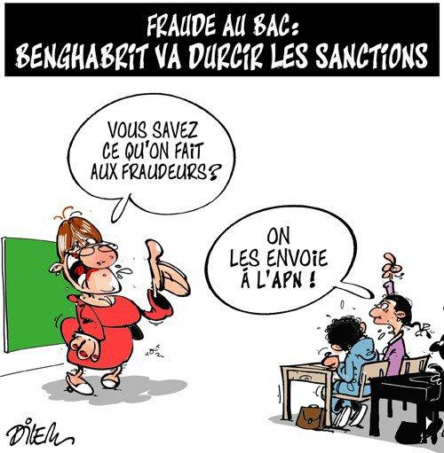 """Spécial """"Algérie : Scandale de tricherie au baccalauréat..."""" - Image n° 2/2 !..."""