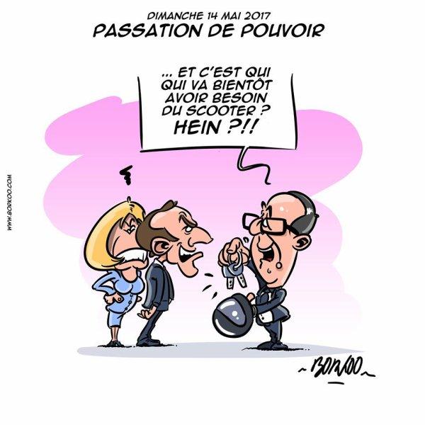 """Spécial """"PASSATION DE POUVOIR... DE SCOOTER.."""" - Image n° 3/3 !..."""