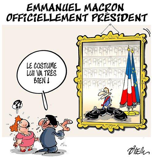 """Spécial """"EMMANUEL MACRON OFFICIELLEMENT PRÉSIDENT..."""" - Image n° 2/2 !..."""