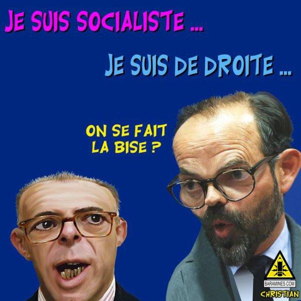 """Spécial """"Passation de pouvoir entre Bernard Cazeneuve et Édouard Philippe ..."""" - Image n° 2/2 !..."""