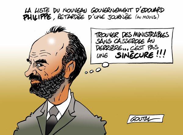 """Spécial """"MATIGNON, à la recherche de ministres sans casserole..."""" - Image n° 2/2 !..."""