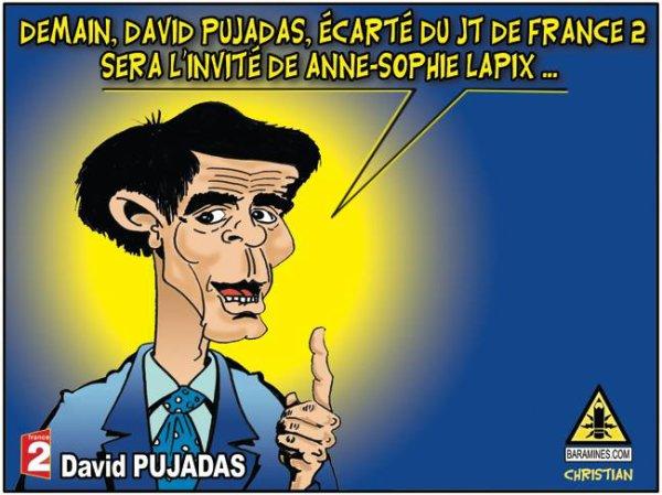 """Spécial """"David Pujadas est écarté du « 20 Heures » de France 2..."""" - Image n° 3/3 !..."""