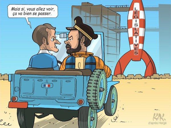 """Spécial """"OBJECTIF LUNE POUR MACRON"""" - Image n° 2/2 !..."""