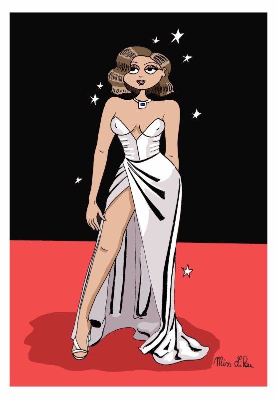 MISS LILOU dessinatrice !...