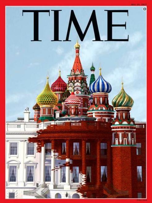 """Spécial """"Trump-Russie : La couverture de « Time » qui fait mal..."""" - Image n° 1/2 !..."""