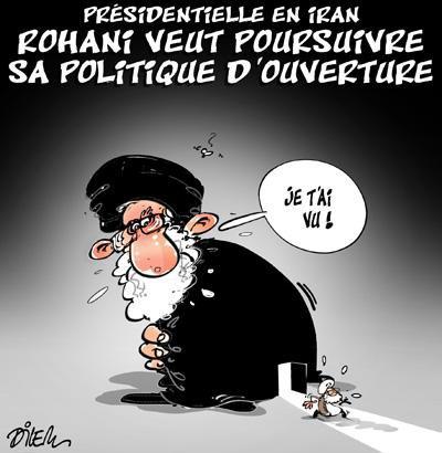 """Spécial """"Le président Rohani réélu, sa politique d'ouverture confortée..."""" - Image n° 2/2 !..."""