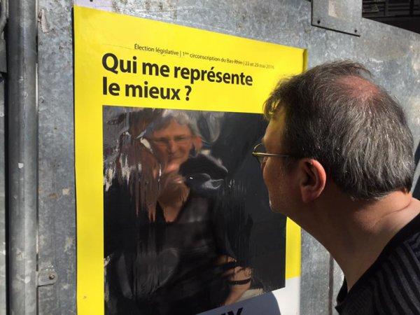 Des affiches électorales « miroir » pour les législatives de Strasbourg !...