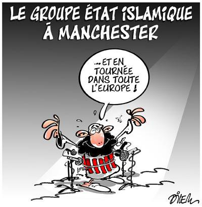 """Spécial """"Le groupe Etat islamique revendique l'attentat de Manchester..."""" - Image n° 2/2 !..."""