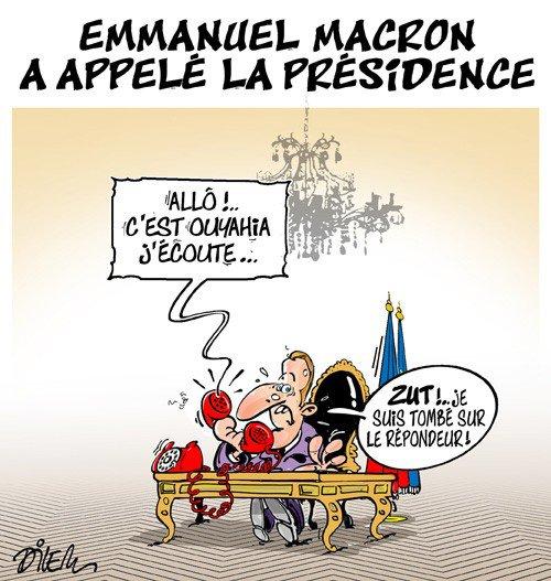 """Spécial """"Emmanuel MACRON a appelé la présidence d'Algérie..."""" - Image n° 2/2 !..."""